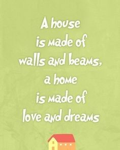 quote, living room art print, green wall art , gift for new home ...