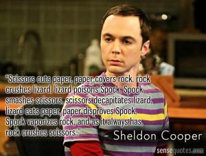 Sheldon Quotes http://sensequotes.com/sheldon-cooper-quote-of-extreme ...