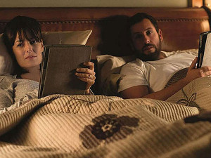 DeWitt and Adam Sandler play an unhappy married couple in