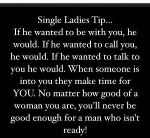 Single Ladies Tip...
