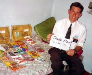 Care Package for Mormon Missionary