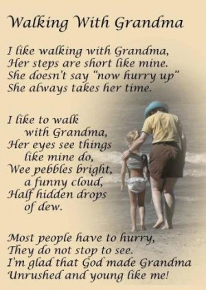 Walking With Grandma - Memories Of Nanie