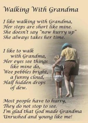 Walking With Grandma - Memories Of Nanie