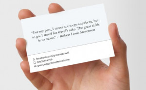 Business Card Ethics