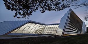 Eli & Edythe Broad Art Museum, East Lansing, USA | Zaha Hadid ...