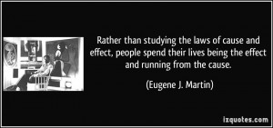 Quotes On Cause and Effect