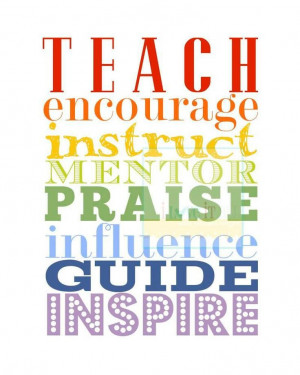 Instruct Mentor Praise Influence Guide Inspire | Share Inspire Quotes ...