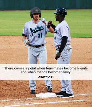 ... field. #RIPITSports #Baseball #Softball #Athletes #Teammates #Quotes
