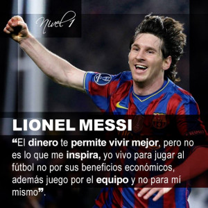 Lionel Messi Quotes Tumblr Lionel messi #frases#citas#