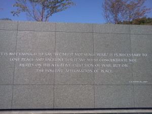 ... norway quote 2 martin luther king jr memorial true peace quote
