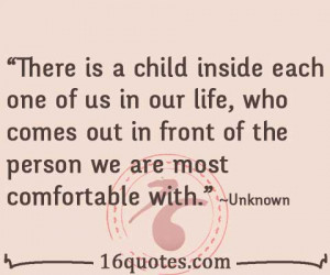 child inside each one of us quote