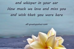 In Loving Memory Birthday Quotes