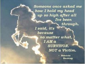 Patricia Buckley: Survivor vs. Victim