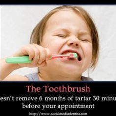 ... dentalhumor dental humor dental hygiene 6 month funny dentists brushes