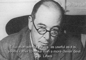 Cs lewis, best, quotes, sayings, famous, education, brainy