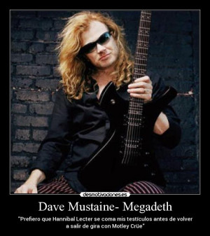 Dave Mustaine- Megadeth