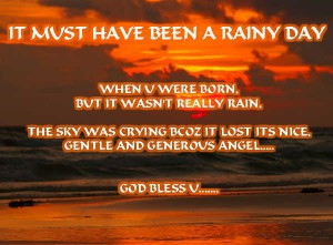 Beautiful Rainy Day Quotes