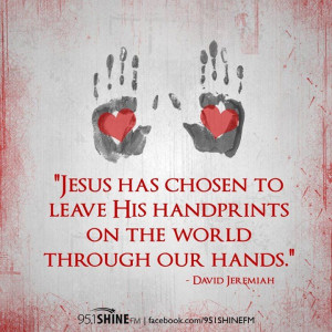 Jesus has chosen to leave..   david jeremiah
