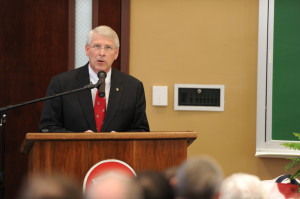 Senator Roger Wicker Giving A Speech