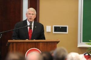 Senator Roger Wicker Giving A Speech