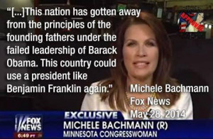 Michele Bachmann ...still batshit crazy