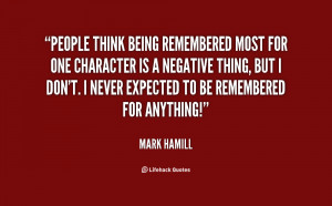 Quotes On Being Negative http://quotes.lifehack.org/quote/mark-hamill ...