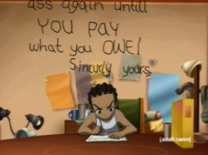 Go Back > Pix For > The Boondocks Riley Quotes