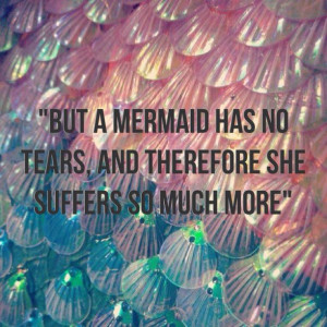 Mermaid tears quote