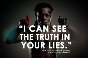 Quotes lying, quotes about lies
