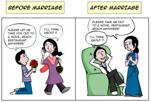 Famous Funny Quotes on life before marriage and after marriage