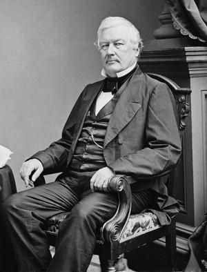 Millard Fillmore. Photo by Mathew Brady, circa 1855-1865. Public ...