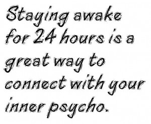 Whos Awake Quotes About