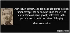 More Paul Watzlawick Quotes