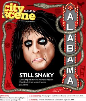 Alice Cooper Concert Cover
