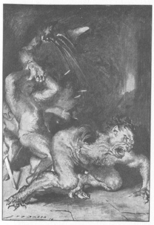part of the story of beowulf involved beowulf fighting grendel the ...