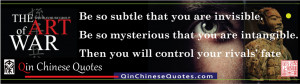 Sun Tzu's Art of War on Be So Subtle That You Are Invisible featured ...
