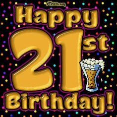21 happy birthday quotes | Funny 21st Birthday Graphics -LayoutLocator ...