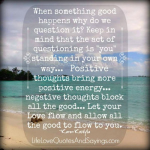 Quotes on Positive Energy Positive Energy Negative