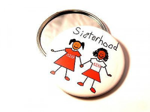 Sisterhood AKA Delta Sigma Theta Or Zeta Phi Beta 3 Mirror