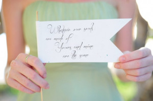 Wedding - Quotes