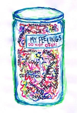 Bottled feelings