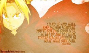 EdwardElric #FullmetalAlchemist #inspirational #anime