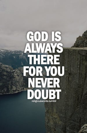 believe, doubt, god, islam, life, quotes, sayings