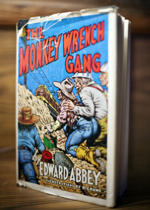 audible books the monkey wrench gang