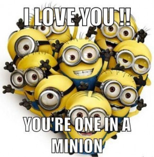 Minions I Love You Quotes (2)