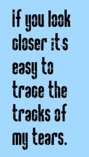 Smokey Robinson - Tracks of my Tears - song lyrics, music lyrics, song ...