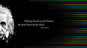 Good Chaos Quote ~ Ordnung Braucht Nur Der Dumme, Das Genie Beherrseht ...