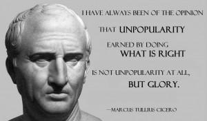 Marcus Tullius Cicero on National Survival