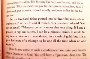 God's princess....from the book