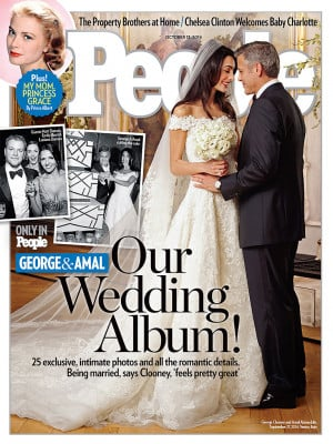 George Clooney and Amal Alamuddin's Intimate Wedding Album Appears in ...